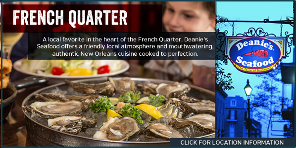 Deanie's Seafood Restaurant New Orleans French Quarter